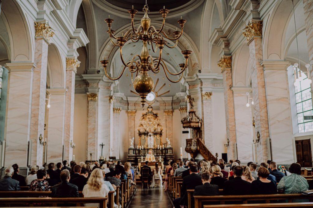 Trauung in der Kirche St. Michael in Aachen