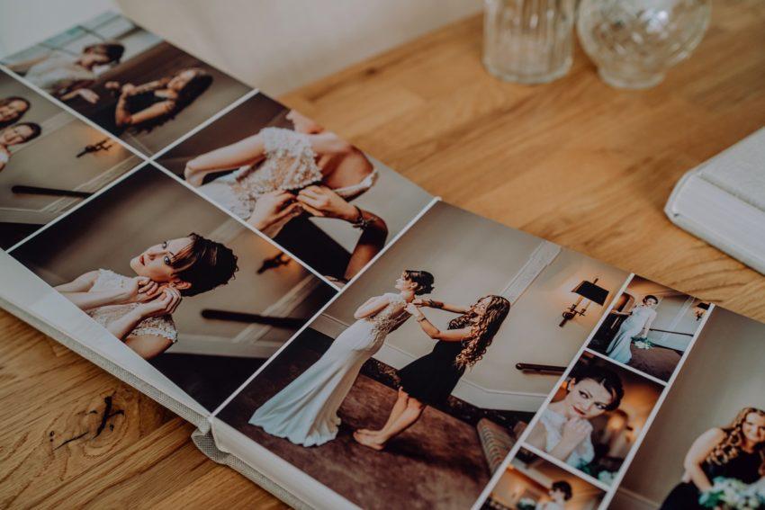 Hochwertige Fotobücher, Einzigartige Hochzeitsfotobücher, Individuelle gestaltete Fotobücher, Individuelle Hochzeitsbücher, verschiedene Cover und Ledersorten zur Auswahl, Foto Kleer