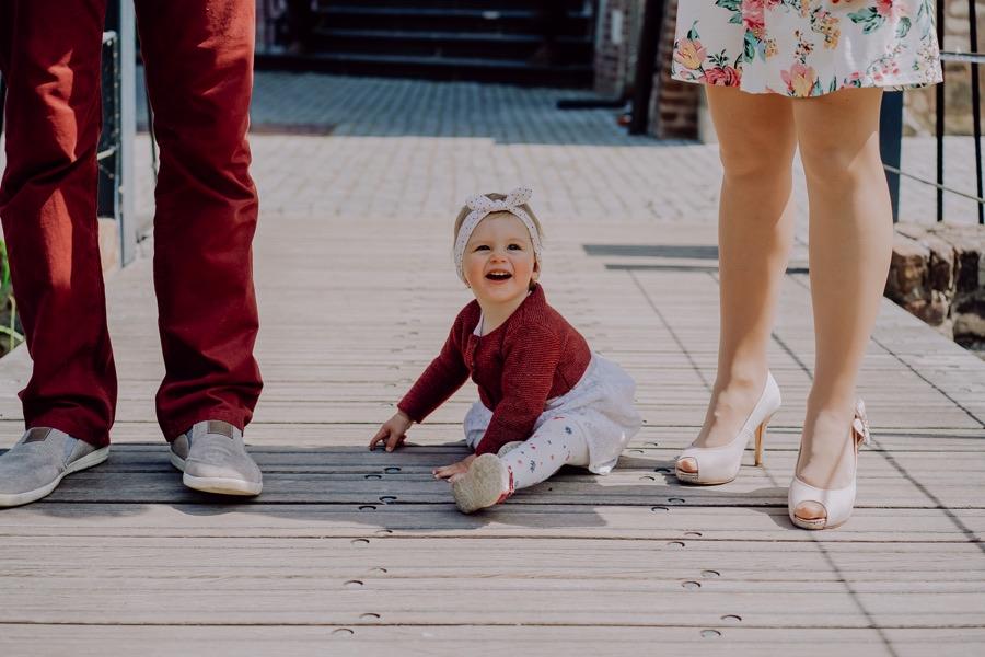 Portratbild eines kleinen Mädchens in Düren